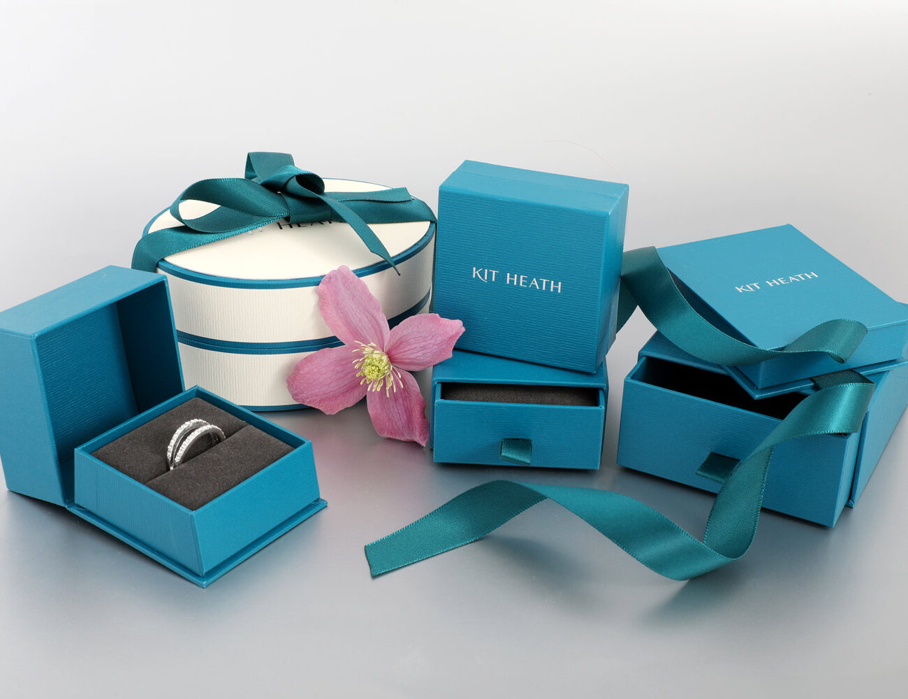 Kit Heath Jewellery Packaging with Ribbons