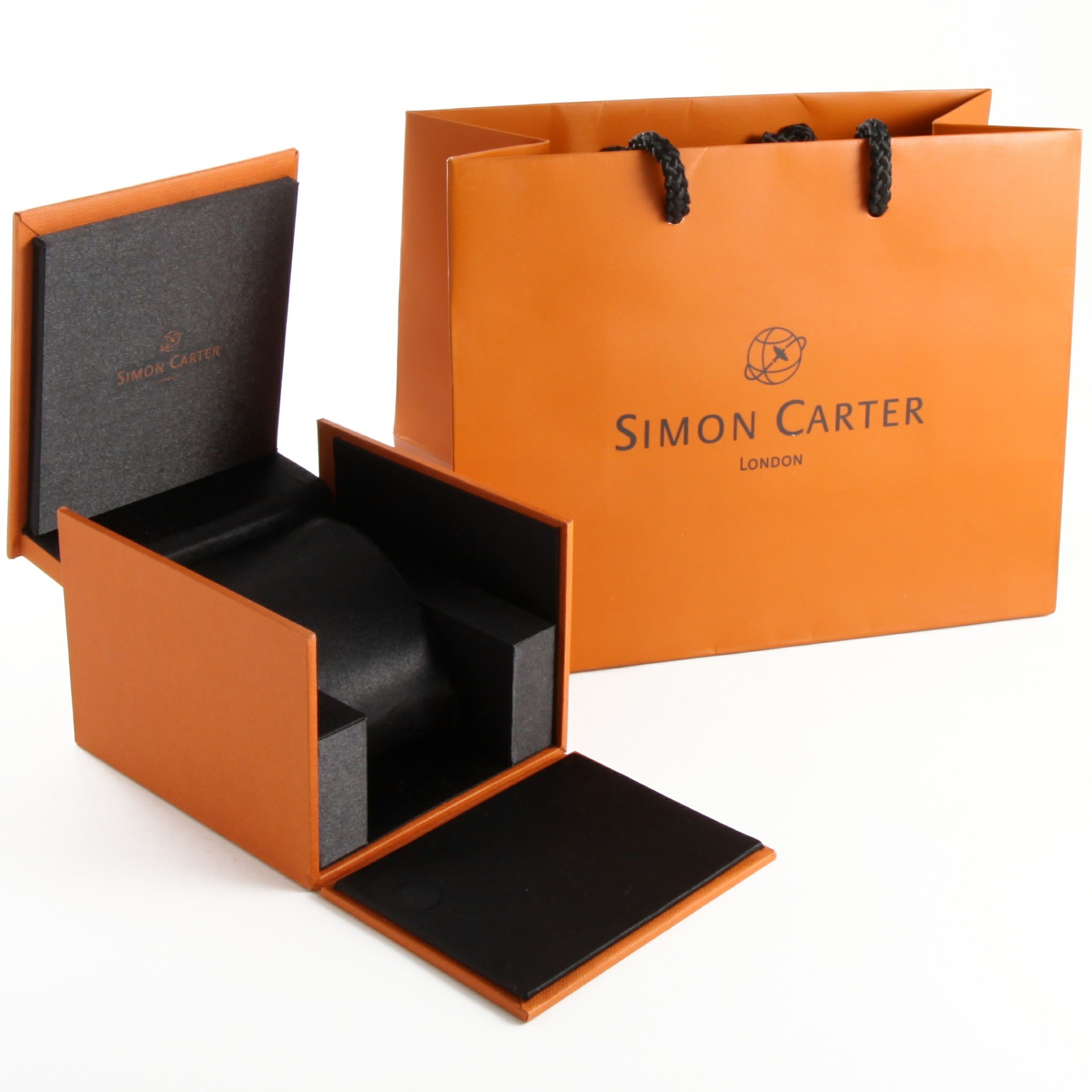 Men's Jewellery Packaging with Matching Paper Bag