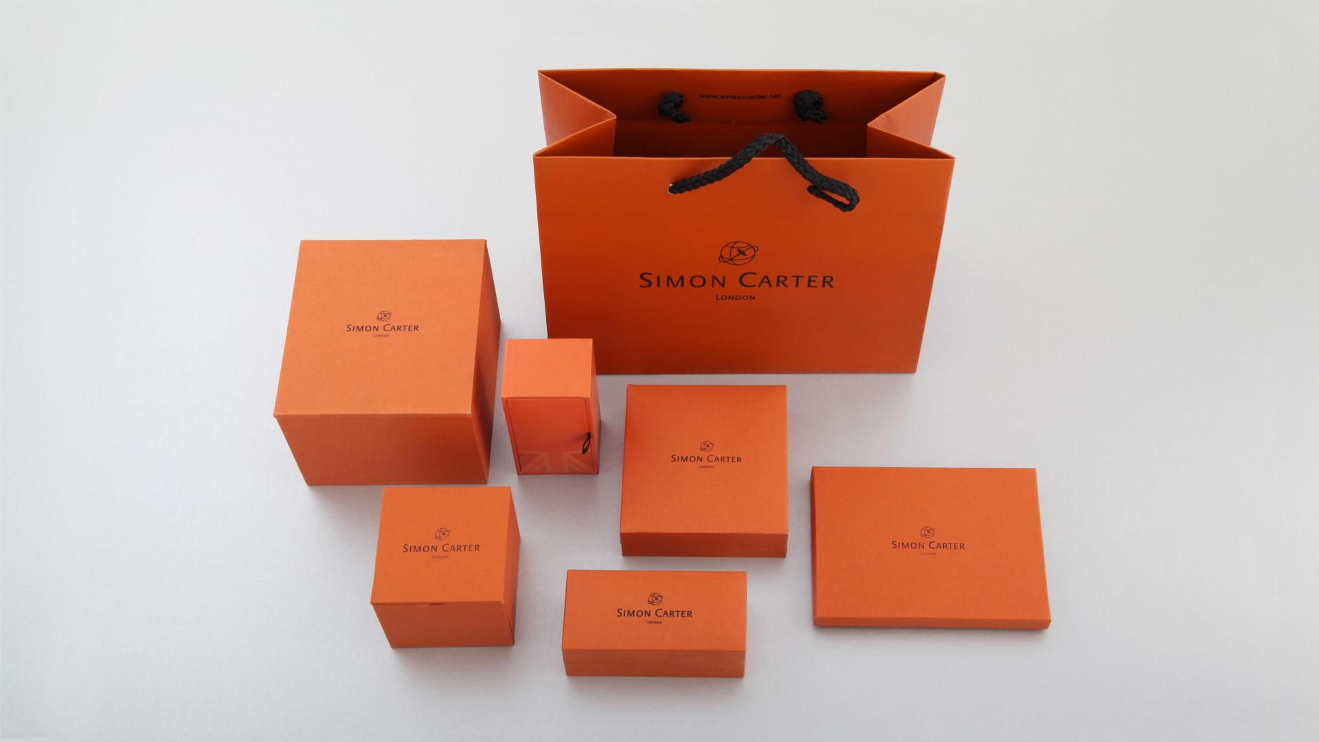 Simon Carter Bag and Men's Jewellery Boxes