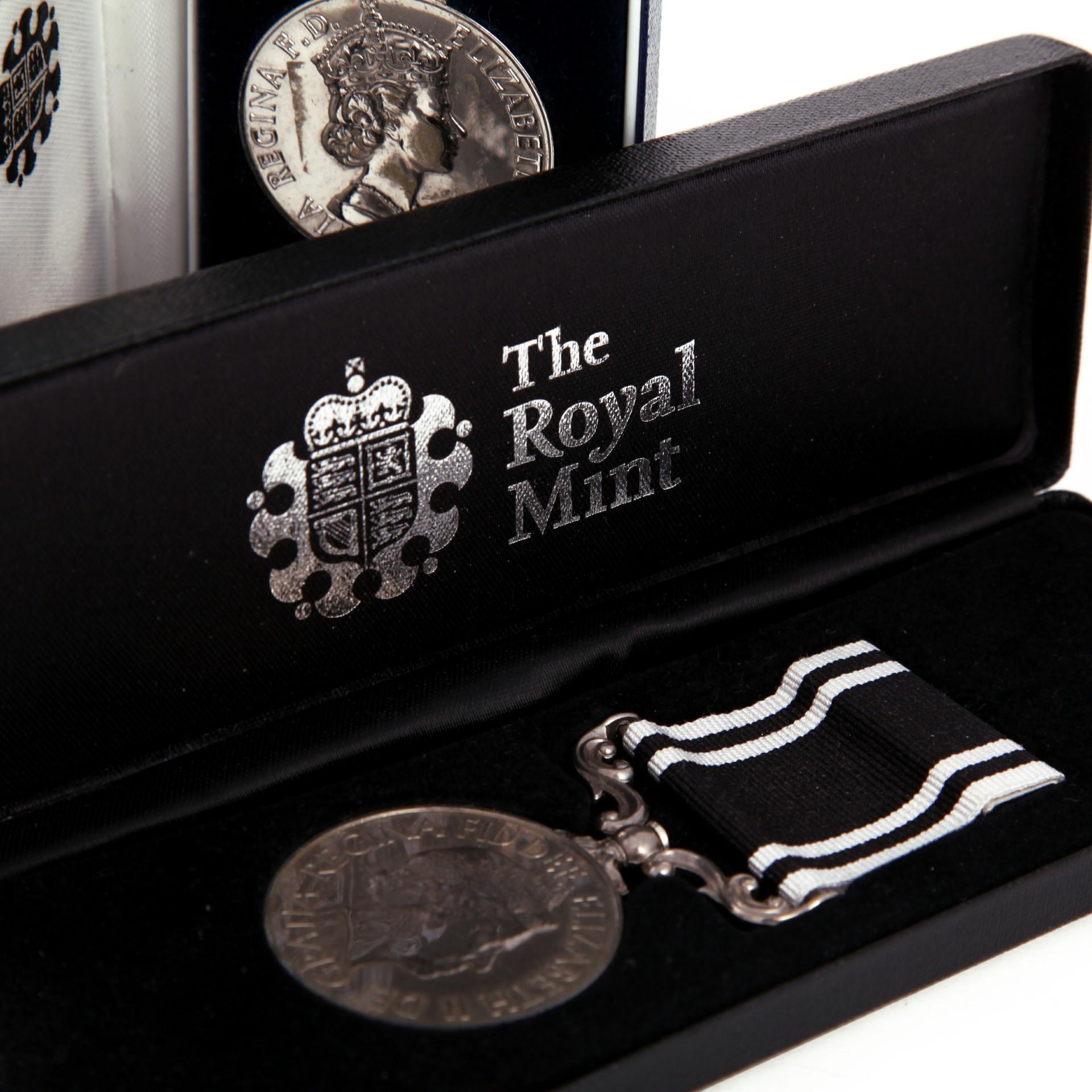 The Royal Mint Medal Box Close Up