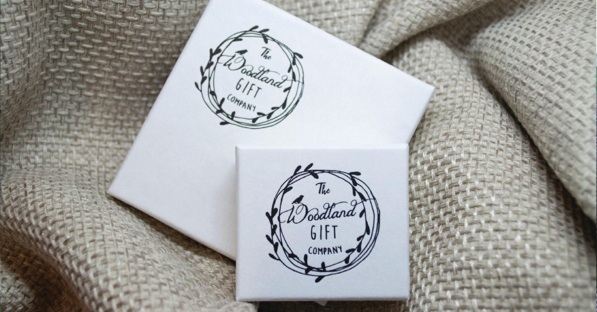 The Woodland Gift Company UK Made Cardboard Box