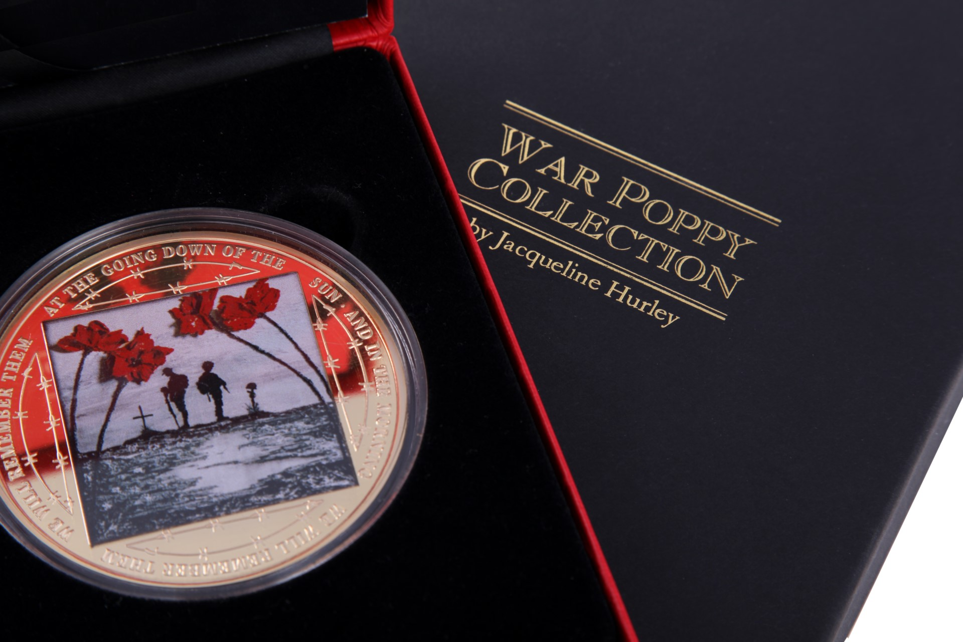 War Poppy Collection Medal Box